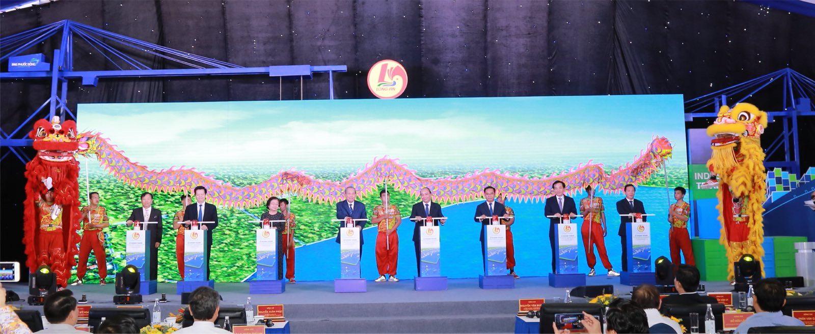 khu cn cau cang phuoc dong vinh du tiep don thu tuong tai le khanh thanh